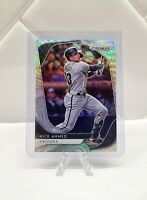 2020 Panini Prizm Baseball Nick Ahmed Blue Wave Prizm 14/60 Diamondbacks