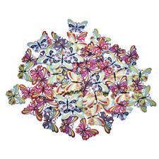 15 pcs Miniature Wooden Butterflies DIY Fairy Garden Terrarium Bonsai Crafts