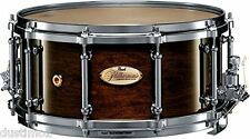 "PEARL PHP1465 14x6.5"" PHILHARMONIC CONCERT SERIES 6-PLY MAPLE SNARE DRUM, WALNUT"