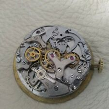VENUS 188 CHRONOGRAPH VINTAGE WATCH MOVEMENT MOVIMENTO NOT WORKING FOR PARTS
