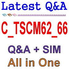 SAP Best Practice Material For C_TSCM62_66 Exam Q&A PDF+SIM