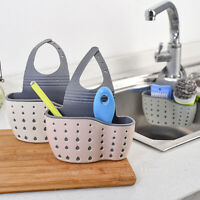 Kitchen Sponge Holder Sink Rack Dish Drainer Suction Sponge Holder Organizer New