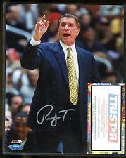 Rudy Tomjanovich Signed 8x10 Photo Tristar COA AUTO Autograph