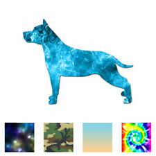 American Staffordshire Terrier - Decal - Multiple Patterns & Sizes - ebn1911
