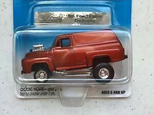 Johnny Lightning Zinger RED 1955 Ford Panel Delivery JL Collector Club Exclusive