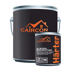 2K Epoxidharz Bodenbeschichtung Bodenfarbe Farbe Betonfarbe Garage Garagenfarbe