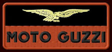 "MOTO GUZZI EMBROIDERED PATCH ~4""x 1-3/4"" MOTORCYCLE CENTAURO CALIFORNIA LE MANS"