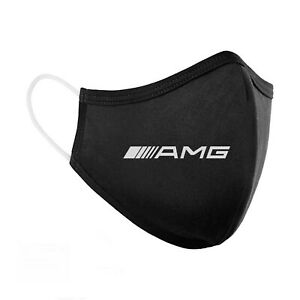 Embroidered Reusable Washable Fabric Cotton Face Mask - Mercedes Benz AMG