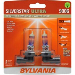 Sylvania 9006 Silverstar ULTRA NIGHT VISION Halogen Headlight Bulbs Pack of 2