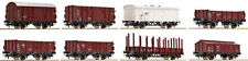 Roco Plastic HO Scale Model Train Carriages