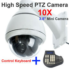 Sony 700TVL high speed dome camera outdoor PTZ 10X ZOOM + Keyboard Controller