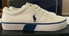 New With Tags Polo Ralph Lauren - Men's Shoes - White - Size (6.5)