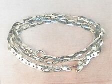 """Italy Sterling Silver .925 Gucci Mariner Link Chain 20"""" Necklace"""