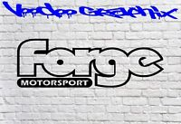 Forge Motorsport Sticker Car DECAL VW FORD AUDI JDM BMW Vinyl Sponsor