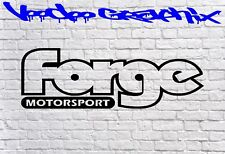 Forge Motorsport Sticker Car DECAL VW FORD AUDI JDM BMW Vinyl Sponsor