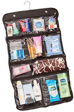 Hanging Cosmetic Bag, Toiletry Travel Organizer, 10 Pocket Packing Storage Kit