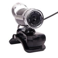 USB 2.0 1080P HD WebCam Web Camera with Mic 360°for MSN Skype Desktops Notebook