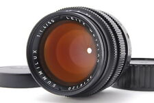 [AB- Exc] Leica SUMMILUX-M 50mm f/1.4 MF Black Lens 2nd Germany From JAPAN 6497