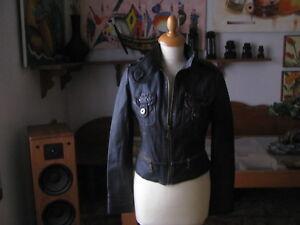 Veste Cuir TRF Especially Fabriqué Leather Collection 100% Cuir Nappa