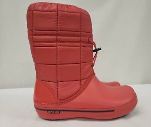 New Women's Crocs Crocband II.5 Winter Snow Boot, Mult. Colors, Size 4, 5,10