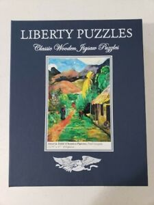 Liberty Wooden Puzzle Street In Tahiti Paul Gaguin Complete 254 pieces