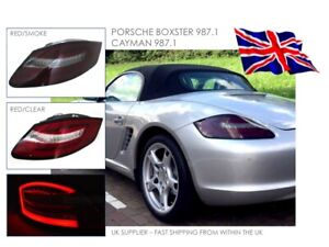 PORSCHE BOXSTER & CAYMAN 987 GEN 1 LED REAR TAIL LIGHTS - SEQUENTIAL IND - LHD