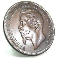 Vittorio Emanuele II (10 Centesimi) 1867-OM,Strasburgo