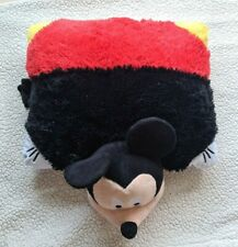 "Disney Mickey Mouse Pillow Pets Plush Stuffed Animal Toy - Large Size 20"" x 18"""