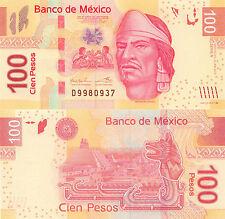 Mexico 100 Peso (2012) - p124f/Series V UNC