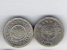 1957 NEPAL  25 Paisa UNC