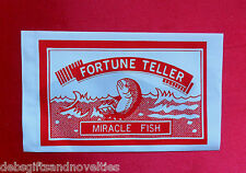 Bulk Lot  10 Fortune Teller Miracle Fish Hens Nights & Party Favor Toy Novelty