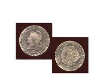 ARGENTINE 1 centavos 1890   (diamétre 2,2  normal 2,5 )
