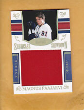 MAGNUS PAAJARVI 2010 11 DOMINION ROOKIE SHOWCASE SHOWDOWN NMBR SP 50 OILERS