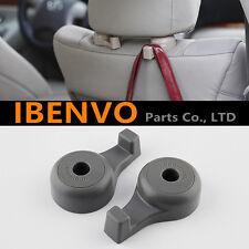 New Gray Universal Car Back Seat Headrest Hanger Holder Hook Bag Purse Cloth