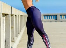 strong lift wear  size 8 size s. Womens Compression Pants - Spotted