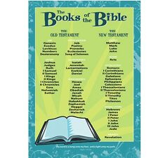 Sunday School Poster - Books of the Bible - Protestant 63393