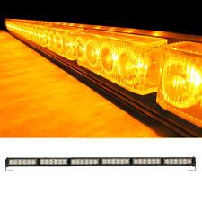 36LED Vehicle Traffic Advisor Warning Strobe Directional Light Bar Yellow/Amber