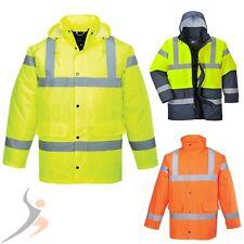 Warnschutzjacke Arbeitsjacke PORTWEST Warnjacke Parka Regenjacke Winterjacke