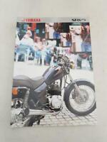YAMAHA SR125 Motorcycle Sales Specification Leaflet c1999 #3MC-0107025-99E