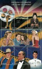 Grenada - 1995 - Cinema - Sheet Of 9 - Mnh