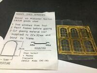 Kit métal Pack goods shed windows , fenetres   4MM OO  HO
