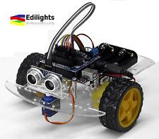 KIT SMART CAR 2WD MULTIFUNZIONI MULTIFUNCTION CAR ROBOT ARDUINO COMPATIBILE