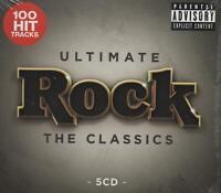 ULTIMATE ROCK - DEEP PURPLE FOREIGNER RAMONES NAZARETH MOTORHEAD - 5 CDS - NEW!!