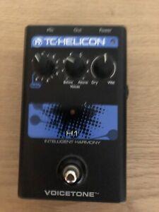 TC Helicon Voicetone H1 Harmoniser Pedal