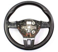 Leather Steering Wheel 10-14 VW Jetta Golf GTI MK6 - Genuine - 5C0 419 091 AK