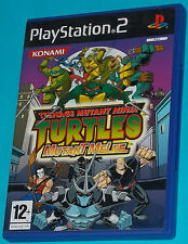 Teenage Mutant Ninja Turtles Mutant Melee - Sony Playstation 2 PS2 - PAL