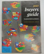 Training Magazine Buyer's Guide Computer Hardware 1997 060315R