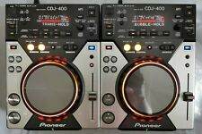 More details for 2 x pioneer cdj 400 serviced, fully working, cd mp3 pc usb controller rekordbox