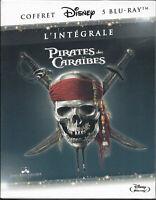 PIRATES DES CARAIBES ... L'INTEGRALE ... COFFRET 5 BLURAY