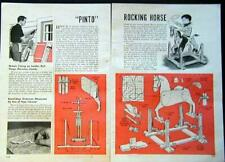 Rocking Horse How-To build PLANS No Springs Easy to build Project